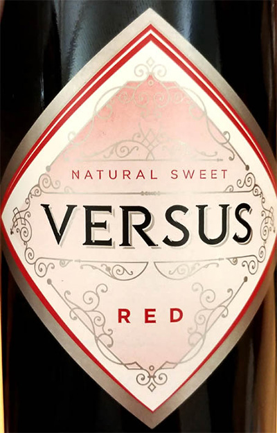 Отзыв о вине Versus Natural Sweet red 2017