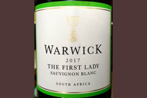 Отзыв о вине Warwick The First Lady Sauvignon Blanc 2017