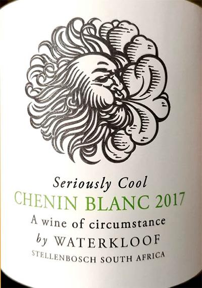 Отзыв о вине Waterkloof Seriously Cool Chenin Blanc 2017
