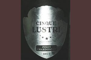 Отзыв об игристом вине Cinque Lustri Pinot Chardonnay Spumante Brut