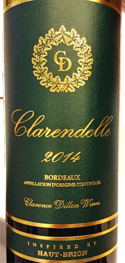 Отзыв о вине Clarence Dillon Clarendelle Haut-Brion Bordeaux 2014
