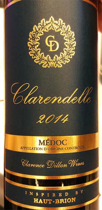 Отзыв о вине Clarence Dillon Clarendelle Haut-Brion Medoc 2014