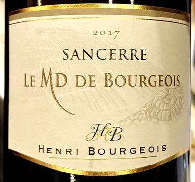 Отзыв о вине Henri Bourgeois Sancerre Le MD de Bourgeois 2017