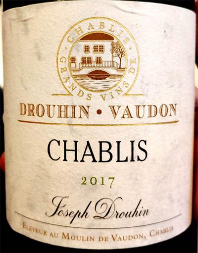 Отзыв о вине Joseph Drouhin Chablis Drouhin Vaudon 2017