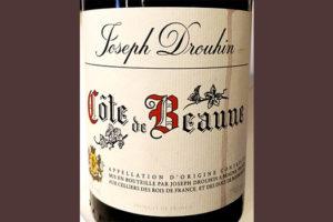 Отзыв о вине Joseph Drouhin Cote de Beaune 2016