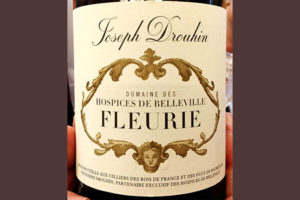 Отзыв о вине Joseph Drouhin Domain des Hospices de Belleville Fleurie 2015