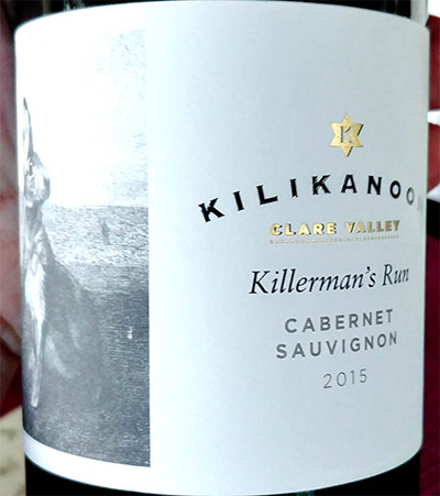 Отзыв о вине Kilikanoon Killirman's Run Cabernet Sauvignon 2015