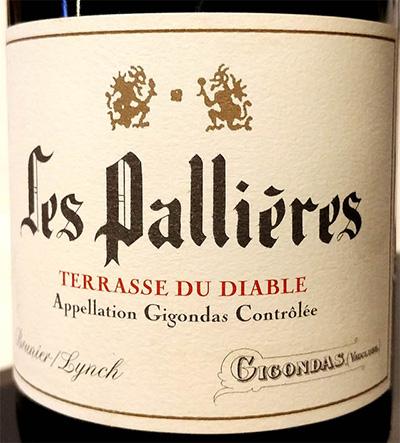 Отзыв о вине Les Pallieres Terrasse du Diable Gigondas 2016
