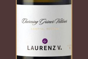 Отзыв о вине Lorenz V Charming Gruner Veltliner Kamptal 2015