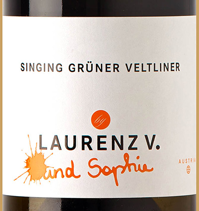 Отзыв о вине Lorenz V und Sophie Singing Gruner Veltliner Kamptal 2017
