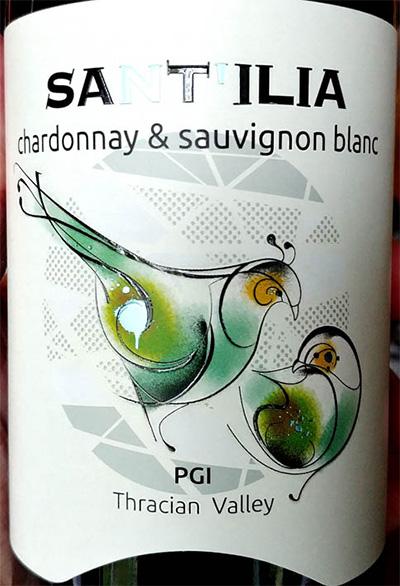 Отзыв о вине PGI Sant'Ilia Chardonnay & Sauvignon Blanc 2018