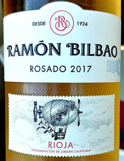 Отзыв о вине Ramon Bilbao rosado Rioja 2017