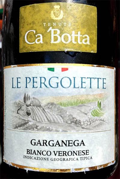 Отзыв о вине Tenute Ca 'Botta Le Pergolette Garganega bianco Veronese 2017