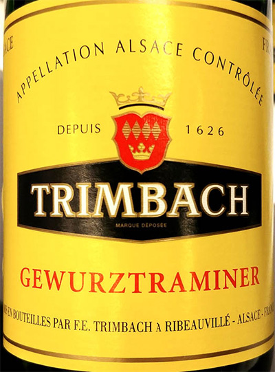 Отзыв о вине Trimbach Gewurztraminer 2016