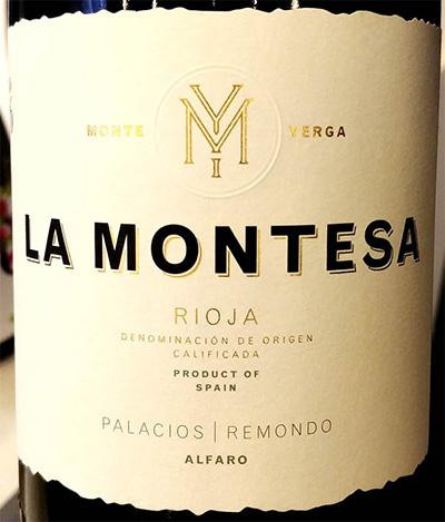 Отзыв о вине Alfaro Palacios Remondo La Montesa 2016