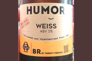 Отзыв о пиве BR by thirsty friends Humor Weiss