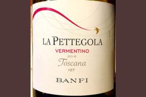 Отзыв о вине Banfi La Pettegola Vermentino Toscana 2018