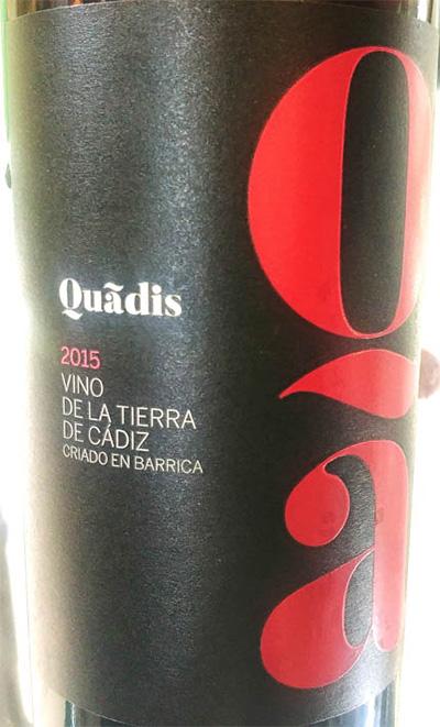 Отзыв о вине Barbadillo Quadis Vino de la Tierra de Cadiz 2015