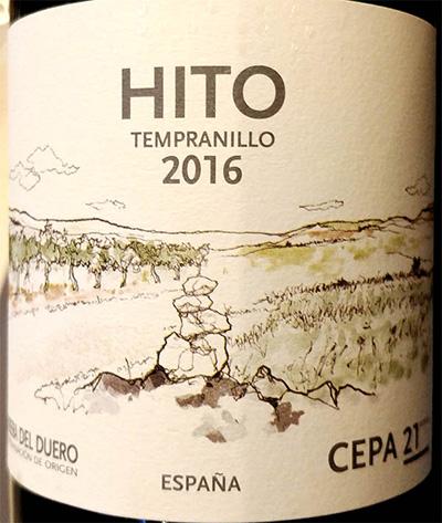 Отзыв о вине Bodega CEPA 21 Hito Tempranillo Ribera del Duero 2016