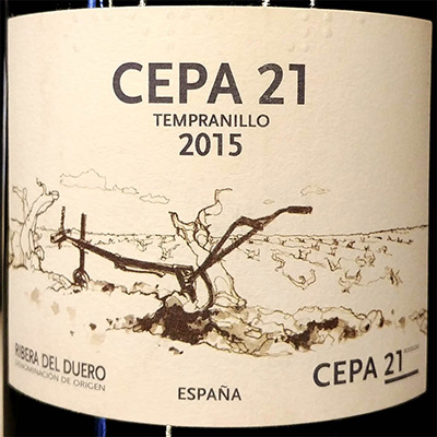 Отзыв о вине Bodega CEPA 21 Tempranillo Ribera del Duero 2015