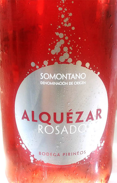 Отзыв о вине Bodega Pirineos Alquezar rosado Somontano 2018