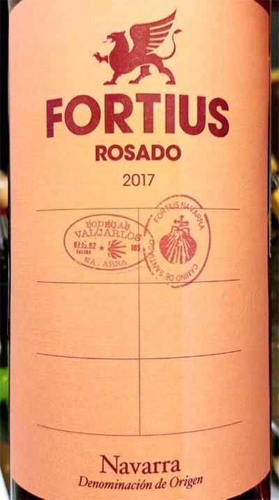 Отзыв о вине Bodegas Faustino Fortius rosado Navarra 2017