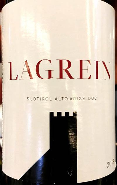 Отзыв о вине Cantina Colterenzia Lagrain Sudtirol Alto Adige 2018