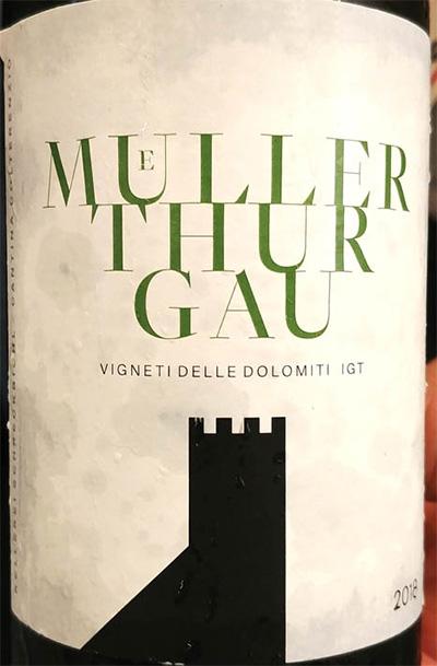 Отзыв о вине Cantina Colterenzia Muller Thurgau Vigneti delle Dolomiti 2018