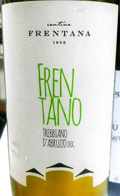 Отзыв о вине Cantina Frentana Trebbiano d'Abruzzo Frentano 2017