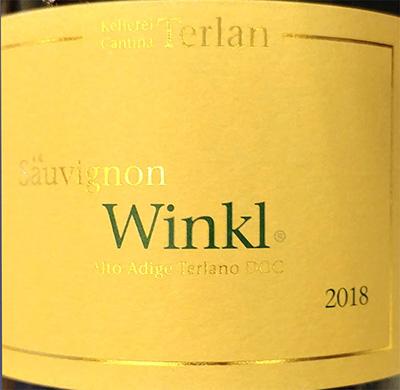 Отзыв о вине Cantina Terlano Sauvignon Winkl 2018