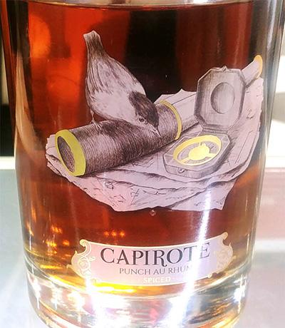 Отзыв о роме Capirote Punch Au Rhum Spiced