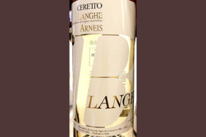 Отзыв о вине Ceretto Arneis Blange Langhe 2018