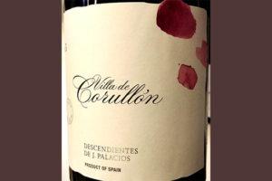 Отзыв о вине Descendientes de J.Palacios Villa de Corullon 2015