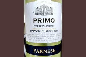 Отзыв о вине Farnese Primo Malvasia-Chardonnay Terre di Chieti 2017