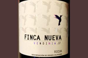 Отзыв о вине Finca Nueva Vendimia Rioja 2017