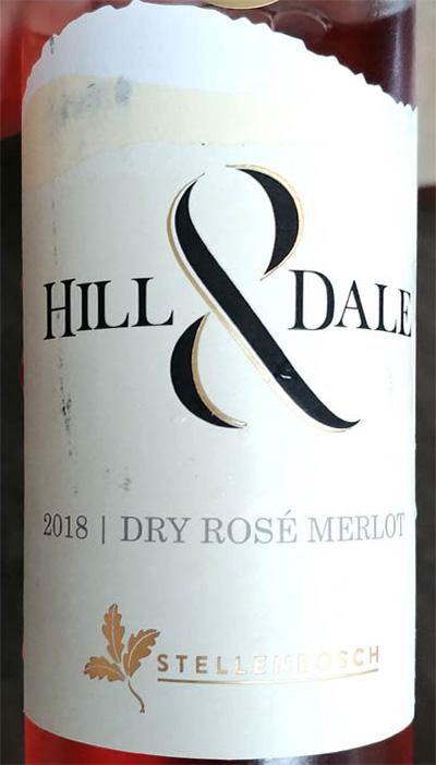 Отзыв о вине Hill & Dale dry rose Merlot 2018