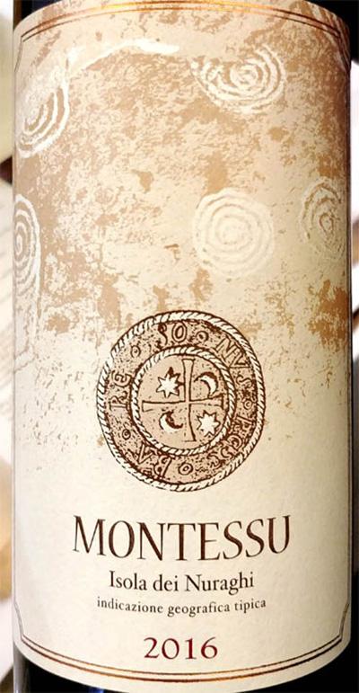 Отзыв о вине Isola dei Nuraghi Montessu 2016