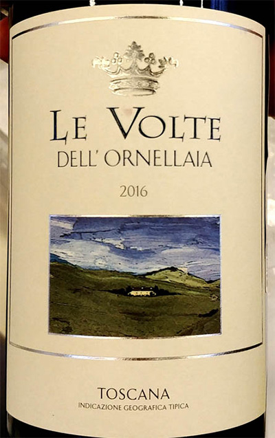 Отзыв о вине Le Volte dell'Ornellaia rosso Toscana 2016
