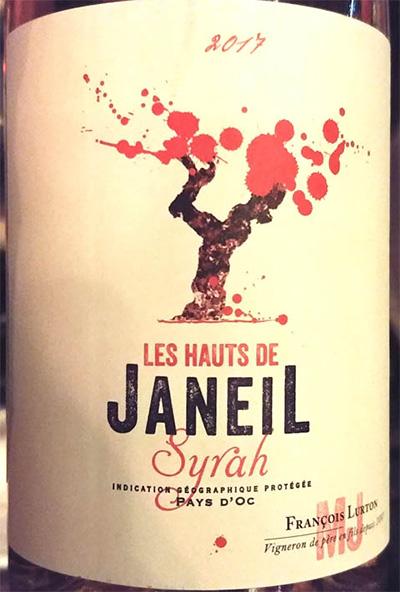 Отзыв о вине Les Hauts de Janeil Syrah rose 2017