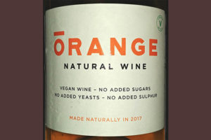 Отзыв о вине Orange Natural Wine Romania 2017