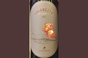 Отзыв о вине San Felice Vigorello A.D. MCMLXVIII 2013