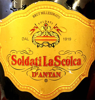 Отзыв об игристом вине Soldati La Scolca d'Antan Brut millesimato 2007
