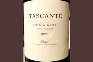 Отзыв о вине Tascante Ghaia Nera Sicilia 2015