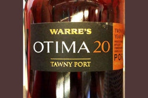 Отзыв о вине Warre's Optima 20 Tawny Port