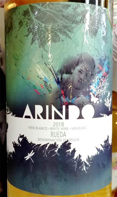 Отзыв о вине Arindo vino blanco Rueda 2018