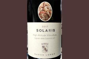 Отзыв о вине Baron Longo Solaris Alto Adige Sudtirol 2017