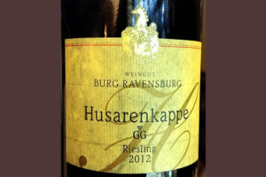 Отзыв о вине Burg Ravensburg Husarenkappe GG Riesling 2012