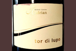 Отзыв о вине Cantina Andrian Tor di Lupo Lagrein Riserva Alto Adige Sudtirol 2016