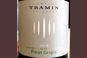 Отзыв о вине Cantina Tramin Pinot Grigio Alto Adige Sudtirol 2018