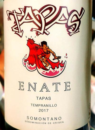 Отзыв о вине Enate Tapas Tempranillo Somontano 2017